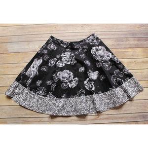 PRABAL GURUNG For Target Full Circle Floral Skirt